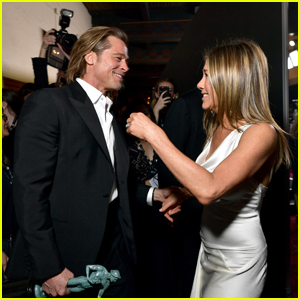 Brad Pitt & Jennifer Aniston Will Be 'Onscreen Together' During 'Fast Times at Ridgemont High' Live Reading!