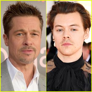 That Brad Pitt & Harry Styles Movie Rumor Is Not True, Unfortunately!