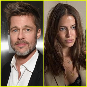 Here S How Brad Pitt Met His New Flame Nicole Poturalski Brad Pitt Nicole Poturalski Just Jared