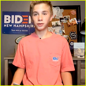 This Brave, 13-Year-Old Boy Overcame His Stutter Thanks to Joe Biden - Watch His Moving DNC Speech!