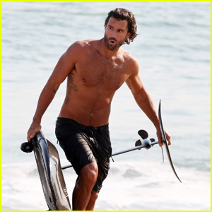Brody Jenner Looks Ripped While Surfing in Malibu