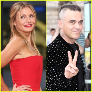 Robbie Williams Says Cameron Diaz Saved His Relationship