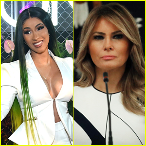 Cardi B Claps Back At Fan Who Said The World Needed Less of Her & More of Melania Trump