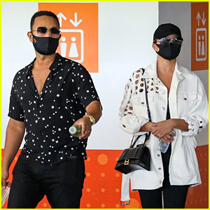 Chrissy Teigen & John Legend Spotted Wearing This Popular $3 Face Mask!