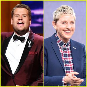 James Corden Is 'In Line' to Replace Ellen DeGeneres (Report)