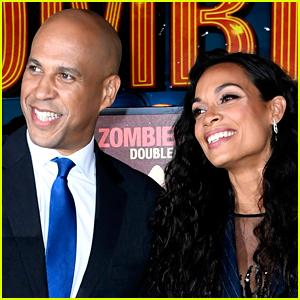Cory Booker Says His Girlfriend Rosario Dawson Likes Bernie Sanders More Than Him!