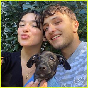 Dua Lipa & Boyfriend Anwar Hadid Adopt a Puppy Together!