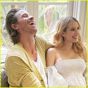 Emma Roberts Confirms She's Pregnant, Expecting Baby Boy with Garrett Hedlund! (Photos)