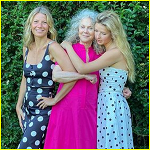 Gwyneth Paltrow Shares Cute Photo with Daughter Apple & Mom Blythe Danner!