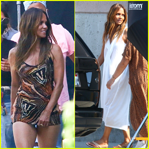 Halle Berry Stuns on the Set of a Photo Shoot in LA