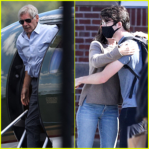 Harrison Ford Flies Private Jet to Take Son Liam to College with Wife Calista Flockhart