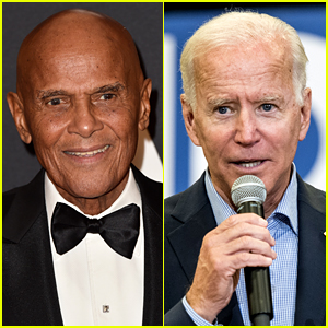 Harry Belafonte Slams Trump Aide for Doctored Video of Joe Biden 'Sleeping' During Interview