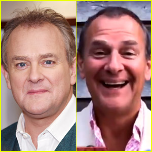Downton Abbey's Hugh Bonneville Debuts New Look After Recent Weight Loss & Hairstyle Change