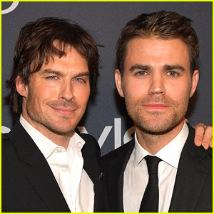 Ian Somerhalder & Paul Wesley's Latest Tweets Will Make You Miss 'The Vampire Diaries'