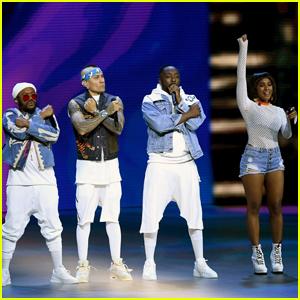 J. Rey Soul Sings Fergie's 'I Gotta Feeling' Parts for Black Eyed Peas' VMAs Performance - Watch!
