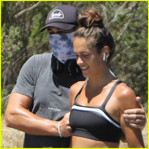 James Franco & Girlfriend Isabel Pakzad Go for a Hike Together in LA