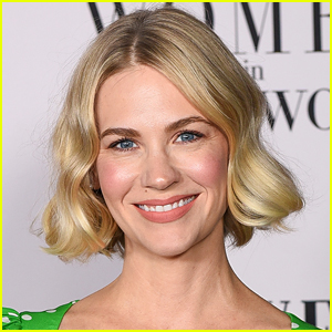January Jones Dyes Her Hair Pink!