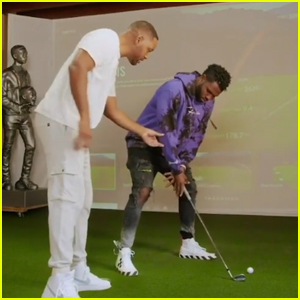 Jason Derulo Knocks Will Smith's Teeth Out While Playing Golf!