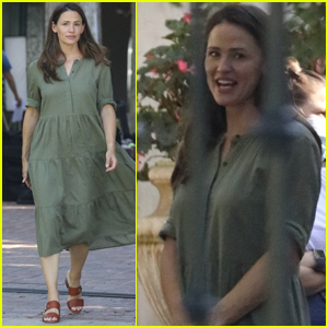 Jennifer Garner Gets Back to Work Filming in the Pacific Palisades