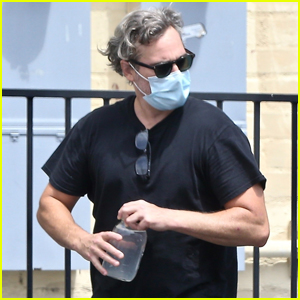 Joaquin Phoenix Gets in a Morning Workout in West Hollywood