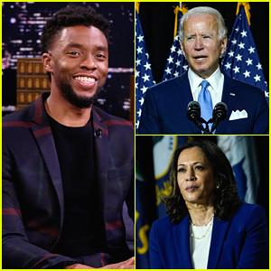 Chadwick Boseman Remembered By Democratic Nominees Joe Biden & Kamala Harris