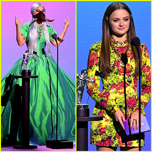 Joey King Presents Song of the Year to Lady Gaga at MTV VMAs 2020 - Watch Now!