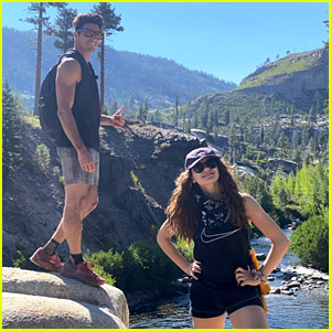 Joey King Goes Hiking with Taylor Zakhar Perez During Their Weekend Getaway!