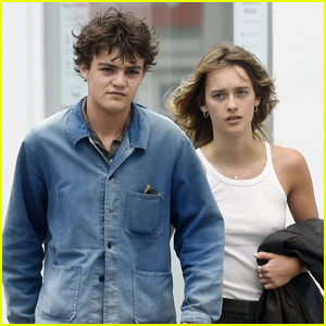 Johnny Depp's Son Jack Heads Out on a Walk with Girlfriend Camille Jansen