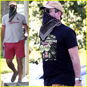 Jon Hamm Spends His Friday Running Errands Around L.A.