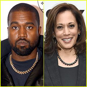 Kanye West Praises Kamala Harris, Refers to Himself as 'Future President'