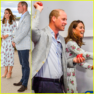 Kate Middleton & Prince William Play Arcade Games During Surprise Visit to Barry Island!
