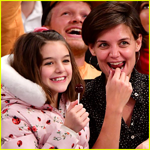 Katie Holmes Talks About Life in Quarantine with Daughter Suri Cruise
