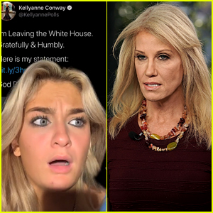 Kellyanne Conway's Daughter Claudia Reacts to Her Resigning with New TikTok Video