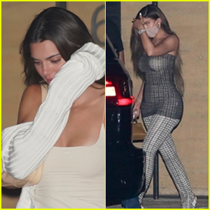 Kendall Jenner Enjoys Dinner With Kylie Jenner & Devin Booker Amid Romance Rumors