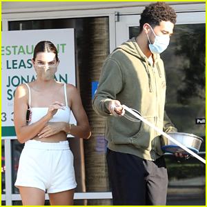 Kendall Jenner & Rumored Boyfriend Devin Booker Run Errands at a Pet Store