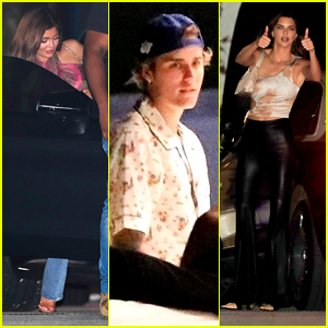 Kylie Jenner, Justin Bieber, Jaden Smith & More Step Out For a Birthday Party