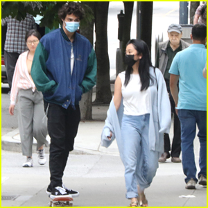 Noah Centineo Grabs Lunch With 'To All The Boys' Co-star Lana Condor in Vancouver
