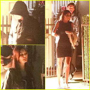Leonardo DiCaprio & Camila Morrone Get Dinner at Same Spot as Kendall Jenner & Devin Booker!