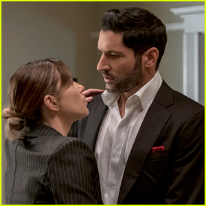 Tom Ellis Reacts to THAT Deckerstar Moment in 'Lucifer' Season 5 (Spoilers)
