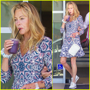 Melanie Griffith Goes on a Juice Run After Celebrating Her Birthday