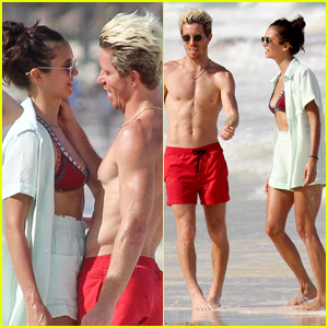 Nina Dobrev & Boyfriend Shaun White Show Some Sweet PDA on Vacation in Mexico!