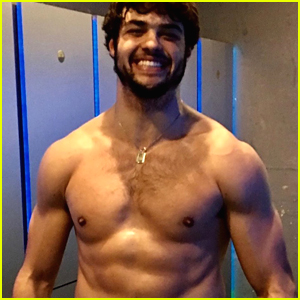 Noah Centineo Puts His Abs on Display In Hunky New Instagram Post