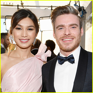 Richard Madden Reunites with His 'Eternals' Co-Star Gemma Chan in Scotland!