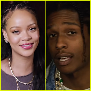Rihanna & A$AP Rocky Talk to Each Other About Skincare & Beauty - Watch! (Video)