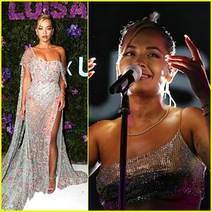 Rita Ora Felt Like An Angel at LuisaViaRoma's UNICEF Event in Italy