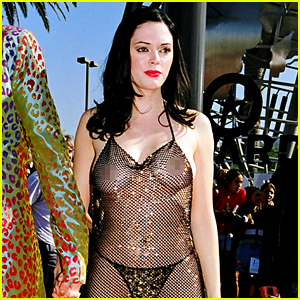 Rose McGowan Looks Back at Iconic VMAs Dress, Explains Why She Wore It
