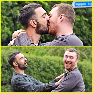 Sam Smith Passionately Makes Out with Francois Rocci in PDA-Packed Photos!