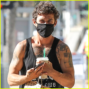 Shia LaBeouf Is Looking So Muscular in His Tank Top