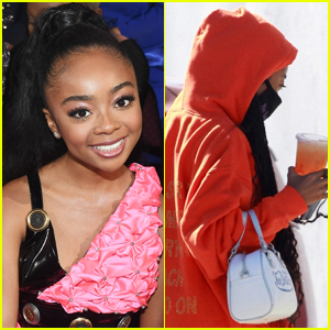 Skai Jackson Joins 'Dancing with the Stars' Season 29, Spotted at Studio with Alan Bersten! (Exclusive)