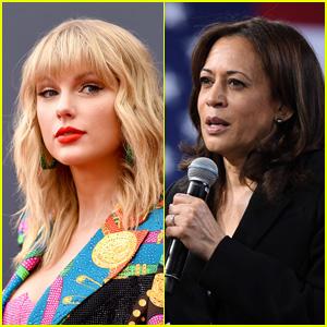 Taylor Swift Reacts to Joe Biden Picking Kamala Harris for VP